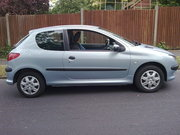 Peugeot 206 1.1 Fever. 2004 Reg. 3 Door H/B.