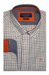 Casa Moda Mens Premium Cotton Country Style Check Size Xl To 7xl